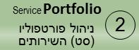 תהליך ניהול תיק השירותים – Service Portfolio management